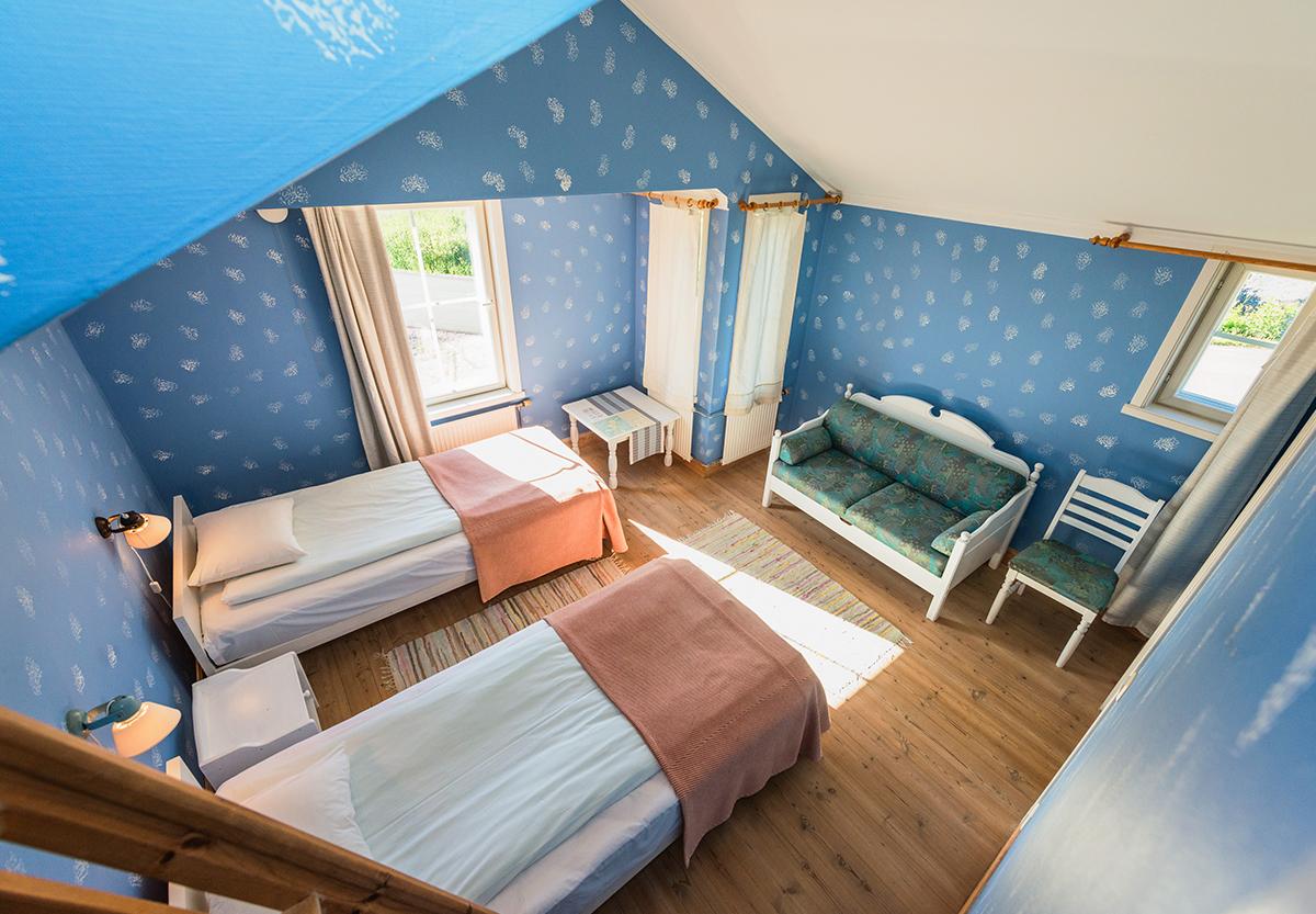 Familje rum på Hotell Brudhäll