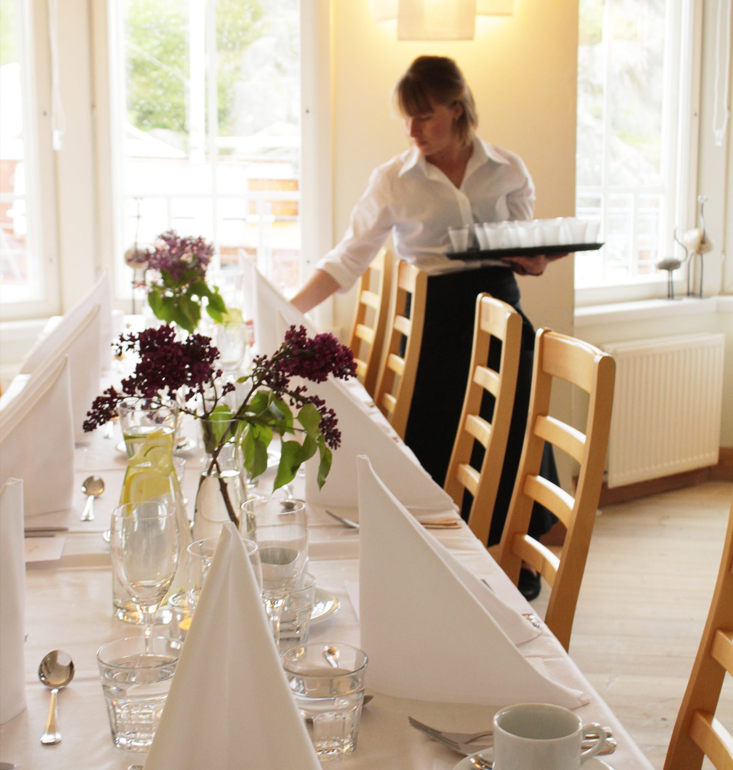 Konferans på Hotell Brudhäll