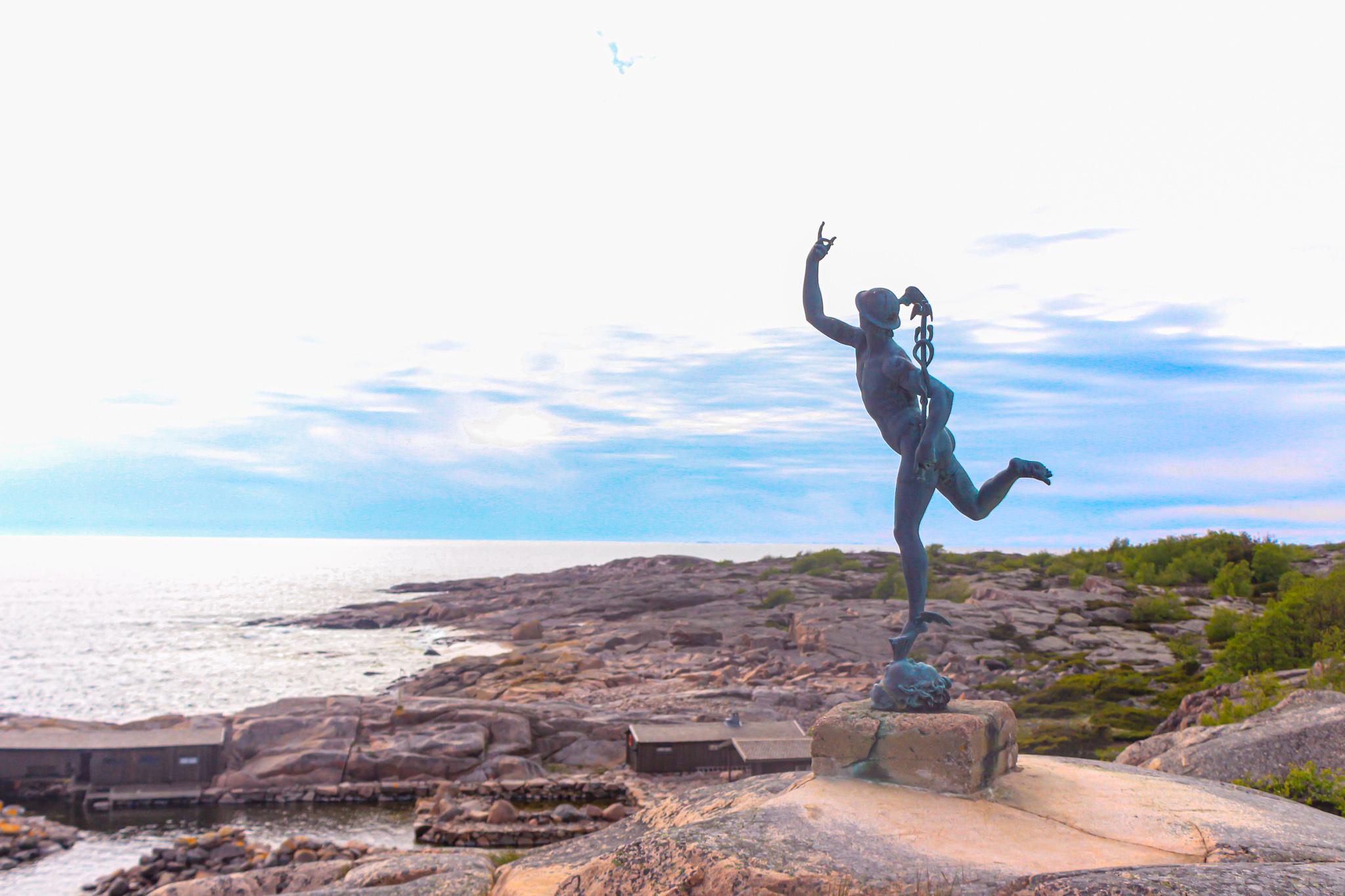 Källskär staty